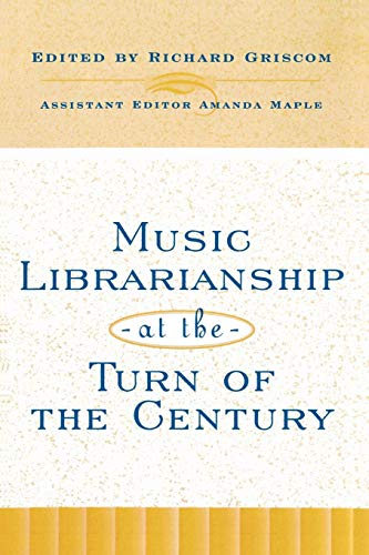 Download Music Librarianship at the Turn of the Century (Mla Technical Reports) 0810838664