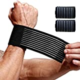 VITIBULANG 2 Pack Carpal Tunnel Wrist Brace,Wrist Wraps for Working Out,Arthritis Hand Support Bands,Lightweight Wristband for Men&Women,Compression Band-Breathable Wristguard-for Tennis,Golf,Fitness