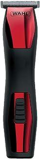 Aparador de Pelos Groomsman Rechargeable Grooming Kit, Wahl, 985544810, Vermelho e Preto