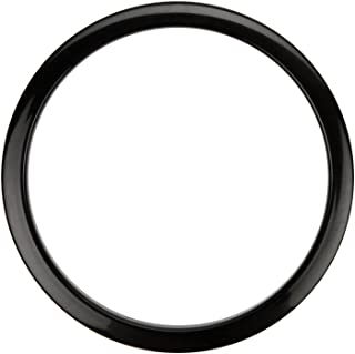 Bass Drum O's Port Hole Ring - 4 Inches - Black