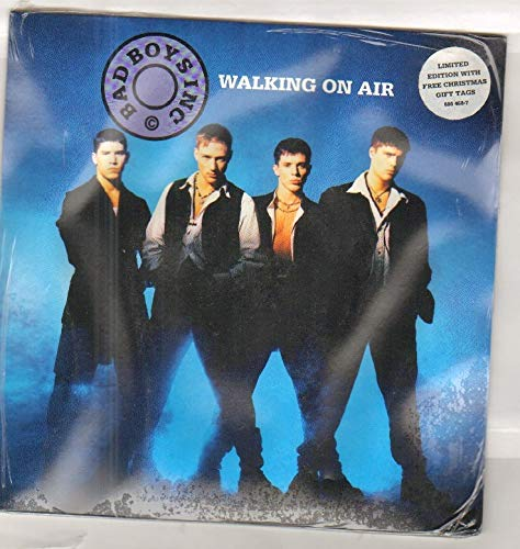 BAD BOYS INC - WALKING ON AIR - 7 inch vinyl / 45 record