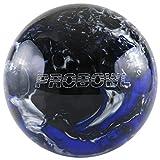 Pro Bowl–Bola de Bolos Bola de Bolos para Principiantes y Profesionales poliéster Pelota räum, Blau/Schwarz/Silber, 12 LBS