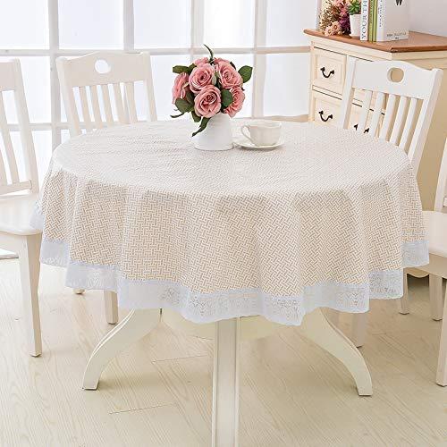 sans_marque Paño de mesa, mantel de fiesta, mantel de mesa, mantel de tela de mesa para interiores o exteriores, cumpleaños, boda Navidad220CM