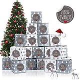 Adventskalender zum Befüllen, Adventskalender Boxen, Adventskalender Schachteln, Weihnachten...