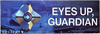 Destiny 2 Collectors Edition Bumper Sticker - Eyes UP, Guardian - Collectible Funny Ghost Quote, 9 inches x 3 inches