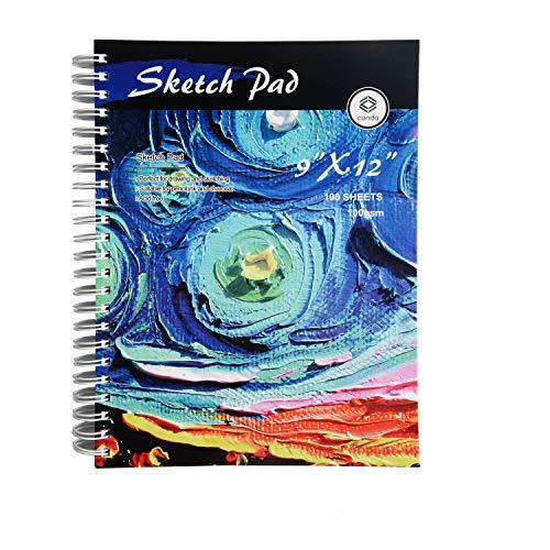 Conda Spiraal Schetsblok voor Tekenen Schilderen 9x12 Starry Sky Sterrenhemel