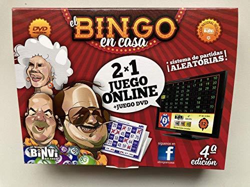 Binvi Bingo 4ª Edicion Nacional 2X1 Online+DVD 160 cartones