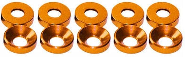 20 stks Aluminium Kleurrijke Geanodiseerde Verzonken Hoofd Bout Sluitringen Pakking Rood/Grijs/Goud/Diep Blauw/Zwart/Roze/...