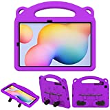TiMOVO Case for All-New Samsung Galaxy Tab S6 Lite 2020, Light Weight Convertible Handle Stand Kids Friendly EVA Protective Cover Fit Galaxy Tab S6 Lite 2020 Tablet, Purple
