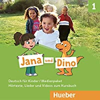 Jana und Dino: Medienpaket 1 - 2 Audio-CDs zum Kursbuch + 1 DVD-Video