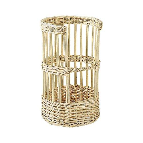 Cesta Panadería - La cesta de pan blanco de mimbre Ø 30 h 51 cm