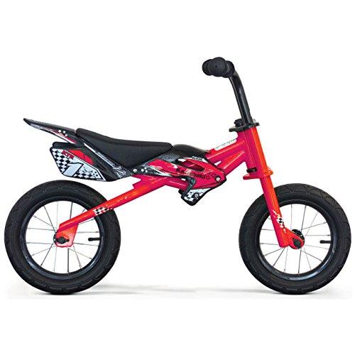Kawasaki Trainer Ktr 12 - Bicicleta para niño, Color Rojo