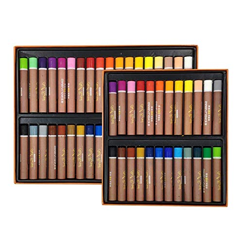 Jsmhh 24 36 Farben Öl-Pastell for Künstler Schüler Graffiti Malerei Zeichnung Pen-Schule-Briefpapier, 36colour (Color : 24colour)