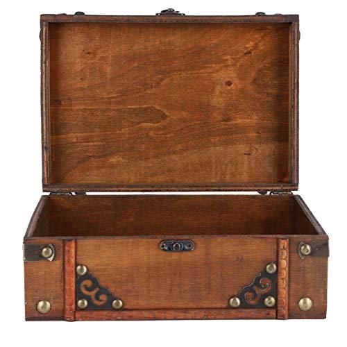 JYKFJ Caja de Almacenamiento de Madera Antigua de Estilo Europeo, Accesorios de fotografía, Adornos, decoración del hogar, 540 g / 19 oz