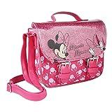 Cerdá 2100002889, Borsa a Tracolla in Similpelle Minnie Mouse Bambina, Rosa Claro, Pequeño