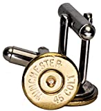 Dobez DesignZ 45 Colt Brass Finish Cuff Links (Winchester)