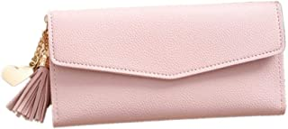 Pink Leather For Women - Bifold Wallets