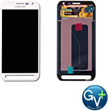 Group Vertical Replacement AMOLED Touch Digitizer Screen Assembly Compatible with Samsung Galaxy S6 Active (Camo White) (SM-G890A) (GV+ Performance)