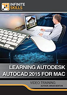 Learning Autodesk AutoCAD 2015 For Mac [Online Code]