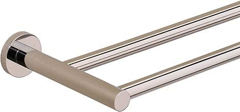 Valsan 67575CR Porto Double Towel Rail Bar in Chrome
