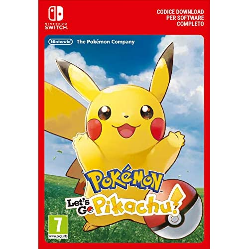 Pokémon: Let's Go, Pikachu!   Nintendo Switch - Codice download
