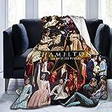 WeBinPo Hamilton The Musical Blanket Flannel 3D Printed Soft Warm Throw Blanket Warm, Home, Bed,Sofa Blanket.