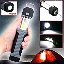 Meiyiu Stretchable LED COB Camping Light Outdoor Inspection Lamp Searchlight Flashlight