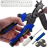 Skilled Crafter Lochzange für Leder. Stanzt ganz einfach perfekte runde Löcher. Professioneller...