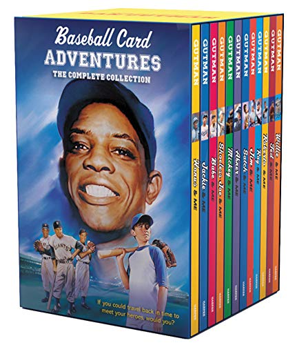 Compare Textbook Prices for Baseball Card Adventures 12-Book Box Set: All 12 Paperbacks in the Bestselling Baseball Card Adventures Series  ISBN 9780062980243 by Gutman, Dan