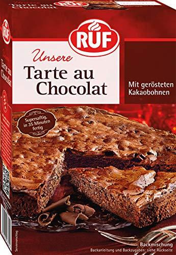 RUF Tarte au Chocolat aus der Springform mit gerösteten Kakaobohnen, 8er Pack (8 x 470 g)