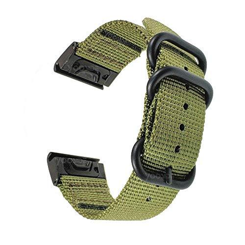 YOOSIDE Quick Fit - Correa para Fenix 5/Fenix 6, 22 mm, nail