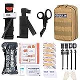 GRULLIN MOLLE IFAK Trauma Kit, botiquín de Primeros Auxilios táctico, EMT de Emergencia para...