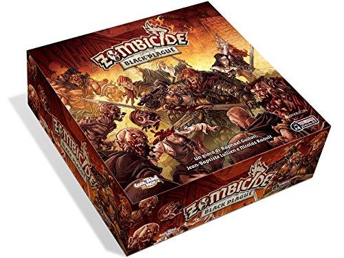 Asmodee 8435 - Zombicide Black Plague Italienische Edition