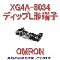 オムロン(OMRON) XG4A-5034 ディップL形端子 形XG4A MILタイププラグ 50極 (極性スロット 1) NN