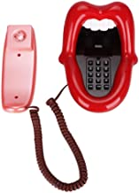 $24 » Red Large Tongue Telephone Landline Phones for Home, Red Mouth Telephone Wired Sexy Lip Phone Gift