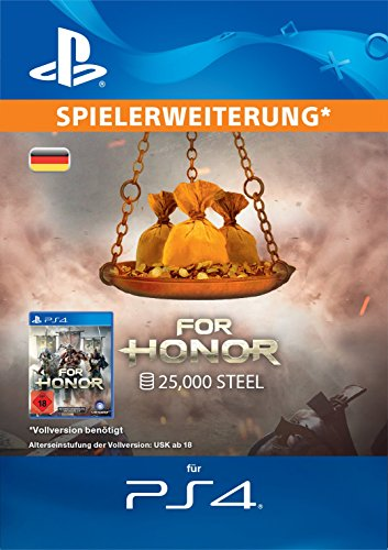 FOR HONOR: 25000 STAHL-Paket [PS4 Download Code - deutsches Konto]