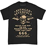 Avenged Sevenfold Men's Seize The Day T-shirt X-Large Black