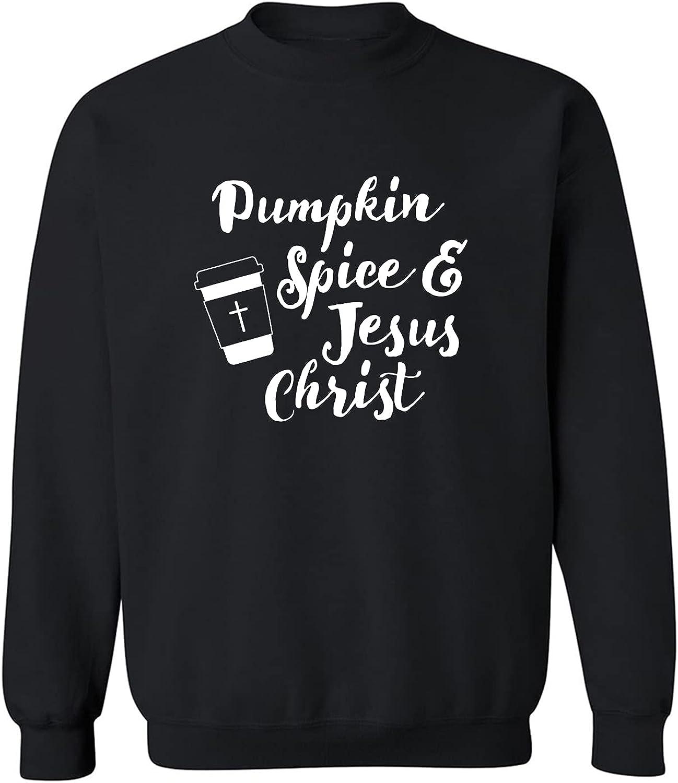 Pumpkin Spice & Jesus Christ Crewneck Sweatshirt