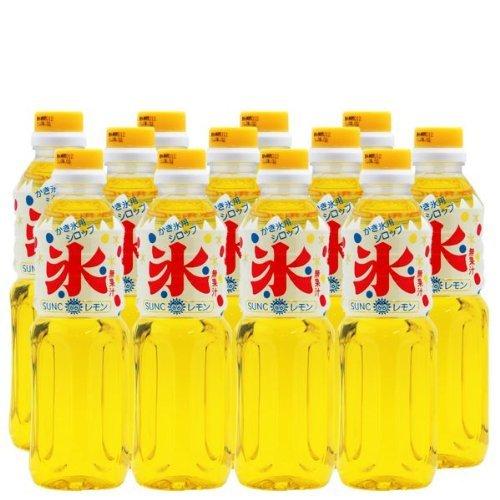 【業務用】 かき氷 (カキ氷) シロップ 【レモン】 500ml ペットボトル×12本