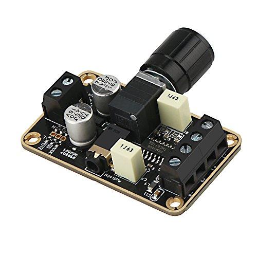 Droking Audio Verstärkerplatine, PAM8406 Digitale Endstufe 5W + 5W Immersion Gold Stereo Amp 2.0 Zweikanal Mini Klasse D DC5V Verstärker DIY Schaltung Modul für Bücherregal Boden Lautsprecher