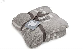 Barefoot Dreams Covered in Prayer Reversible Throw Blanket (Oyster/Pearl)