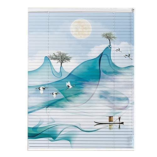 CHAXIA-Venetiaanse Blinds Balkon Slaapkamer Waterdichte Anti-roest Cover Licht Lifting Rolluik Aluminium Gemakkelijk schoon te maken, 2 Stijlen Beschikbaar