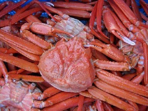 激安即納!! 名人の「浜茹で蟹L-6尾」...紅ずわい蟹A級品 2.5〜3kg