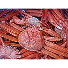 激安即納!! 名人の「浜茹で蟹L-6尾」...紅ずわい蟹A級品 2-.0-2.5kg