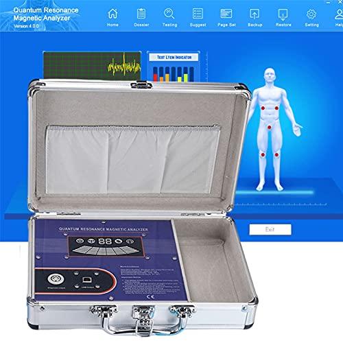 HHYGR Resonancia Magnética Analizador Cuántico Multifuncional, Analizador de Salud Corporal Portátil Profesional Dispositivo de Análisis de Detector Cuántico para el Cuidado de la Salud