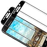 RIIMUHIR [2 unidades] Protector de pantalla de cristal templado para Samsung Galaxy S7 Edge, antiburbujas, antiarañazos, HD transparente, delgado y de alta definición para Samsung S7 Edge