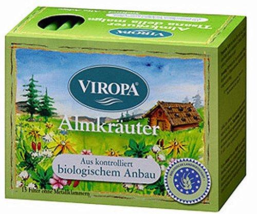 Almkräuter Tee Bio 15 Filterbeutel - Viropa Südtirol