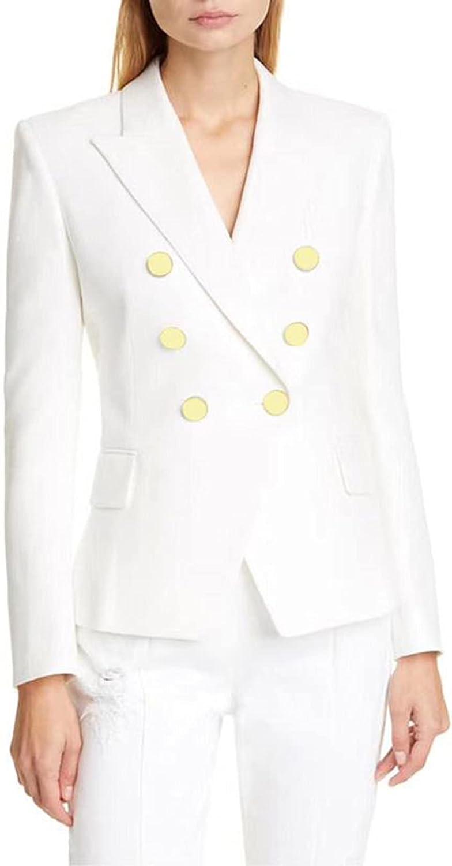 Fashion Women Clothes Blazers 2 Piece Set Womens Suits Coat Ladies Clothing Jacket Size S-XL