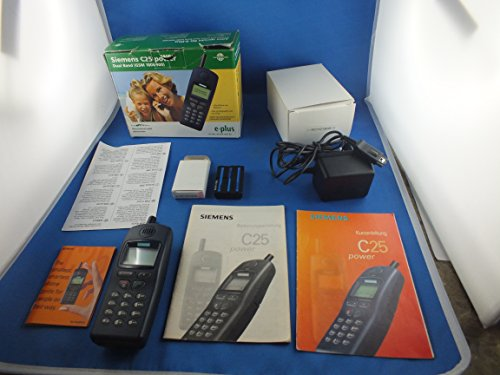 Siemens C25 - Telefono cellulare Classic Blue Made in Germany
