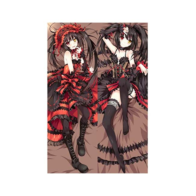 Dennieke Hot Japanese Anime Date A LIVE Tokisaki Kurumi Hugging Body Pillow Cover Case Bedding Dakim
